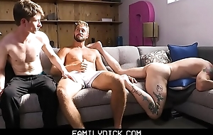 FamilyDick - Stepdad Rimmed increased by Screwed By His Boys