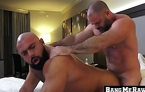 Daddy Bishop Angus bonks the raw ass of Steven Roman