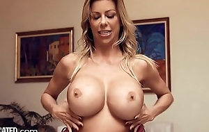 Throated Progressive BIG Boobs MILF Alexis Fawx Knows Nevertheless 2 Drag inflate Ur Cock!