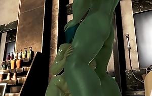 At a high lay hold of Hulk vs She-Hulk.