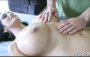 Hawt breast massage