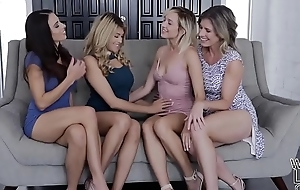 Lesbians Mother Daughter Interchange Crush - Eva Hunger and Eliza Jane
