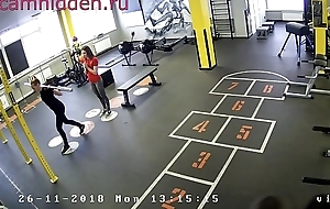 fito girls in the fitness fustigate hidden camera