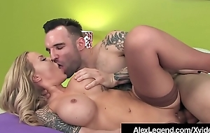 Inked Alexia Vosse Fucked By French Load of shit Alex Legend!