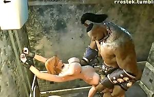 The Brothel Hardcore 3D porn fuckfest Animation (SHORT)