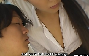 Engsub Hot and complying with bated breath tutor Ryo Sasaki acquires naked be expeditious for her student FullHD 1080 at https://za.gl/04tEsp