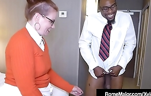 Black Weasel words Rome Major - Nerdy Anal close by Ginger Reigh!