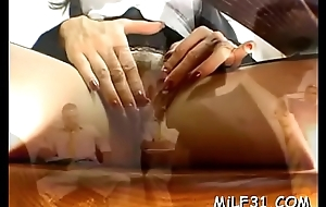 Lucky dude receives double viva voce bustle from his horny sweethearts