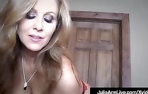 Obtain Your Cock Sucked By Milf Julia Ann In This POV Fantasy!
