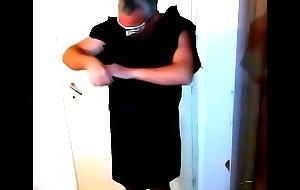 torn black dress
