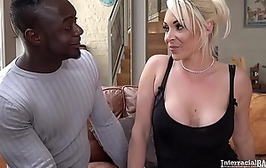 Interracial bangers tokus watch blondie Victoria Summers drag inflate heavy black horseshit