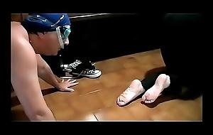 Stretching &amp_ Sniffing (ItalFetish - Fetish Obsession)