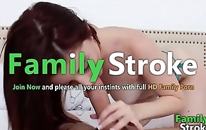 FamilySTROKE.net - Curvy Slutty Teen Riding Bro