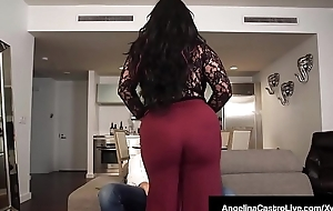 Latin babe BBW Angelina Castro Does 3Some With Roberta Gemma!