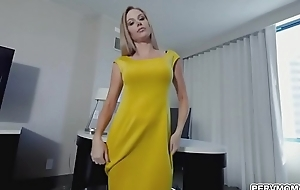 Jenna took stepsons cock in her frowardness