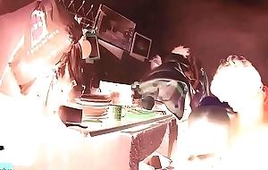 night camera catches several cousins doing burnish apply piggy ADR00218