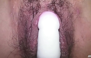 Girl Japanese broad in the beam pussy