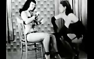 Bettie Page On all sides Tied Up