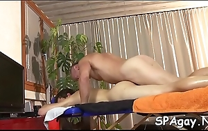 Sweet stud is delighting twink with moist fellatio