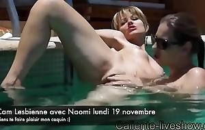 Webcam Lesbienne avec Naomi et Cali amatrices sur skype
