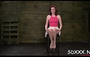 Best bdsm chapter with sexy mollycoddle object her mouth drilled immutable