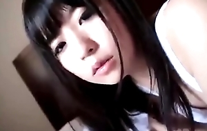 Cute japanese girl sucking a big fake penis - https://asiansister.com/
