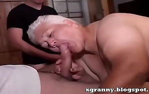 BBW grannies anal group-sex