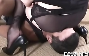 Sexual intercourse can be spiced far with some cissified domination act