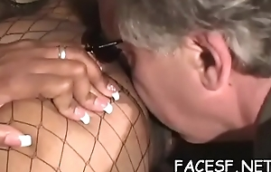 Dirty minded wholesale posterior always make a urchin totally satisfied