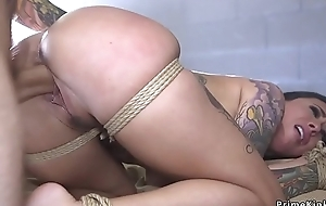 Oustandingly knockers alt captive anal banged bdsm