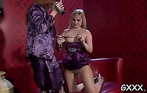 Unbelievable lesbo babe gets her fat pussy fractured passionately