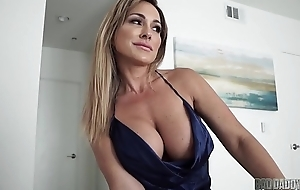 Hot Mom Aubrey Black Fucks Costs While Role Playing His Function Daughter