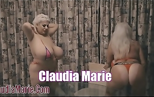 Claudia Marie Lesbian Sexual relations With Kayla Kleevage