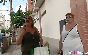 The Spanish Mommies in addition want to knock off porn. BBW Pretty good Mature Troika