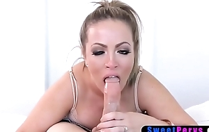 Heavy frustrated MILF stepmother seduced say no to stepson