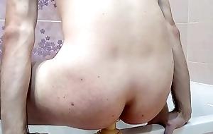 Triad ribled anal dildo