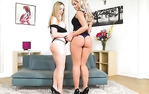 Blonde hotties from Russia take acute pussy hunger