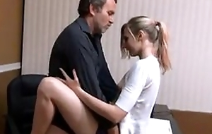 Laconic interior babe quickie fuck close by daddy
