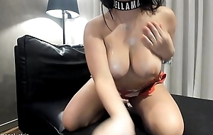 JOI X Latina Big Boobs Strip Hot Oil Botheration Models strip striptease unassisted bikini masturbate