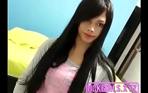 Latina With Long Hair and Long Bushwa